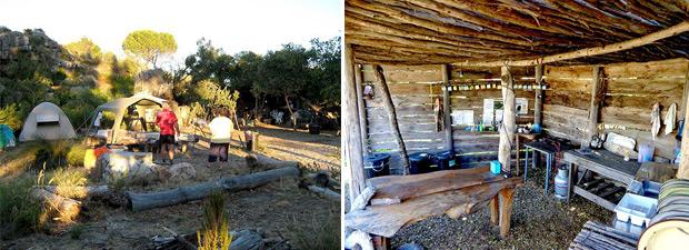 Campsite at ksv farm piketberg.